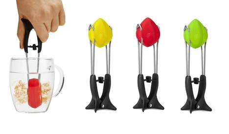 Tea-Squeezing Infusers - This Mess-Free Design by Dreamfarm Speeds up the Brewing Process