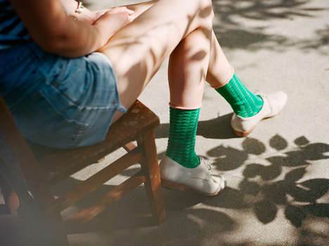 Colorfully Chic Sock Collections