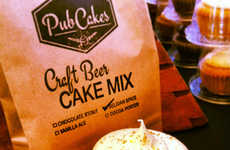 Beer-Infused Cupcakes - PubCakes Combine Scrumptious Cupcakes with a Delicious Craft Beer Recipe