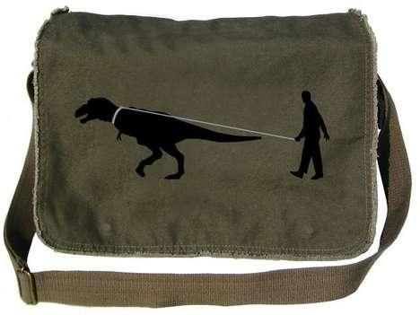 Domesticated Dinosaur Bags
