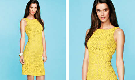 Body-Shaping Floral Collections - The New Melanie Lyne Collection Features Hidden Body Shapers