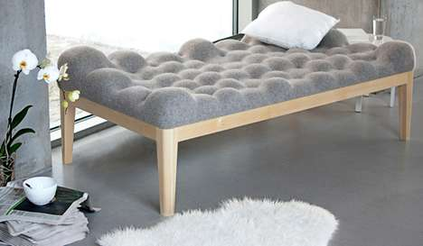 Cloud-Cushioned Couches - A Rest on the Kulle Daybed is Like Sleeping Up High in the Sky