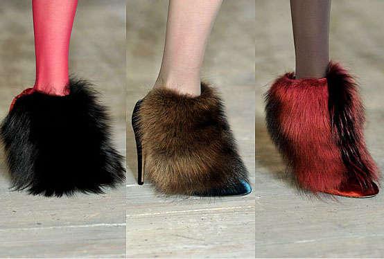 25 Furry Footwear Designs