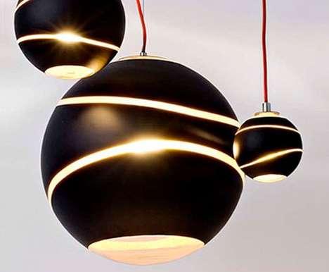 Dangling Bubble Lamps