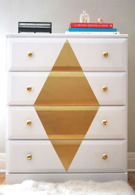 Sophisticated DIY Dresser Accents