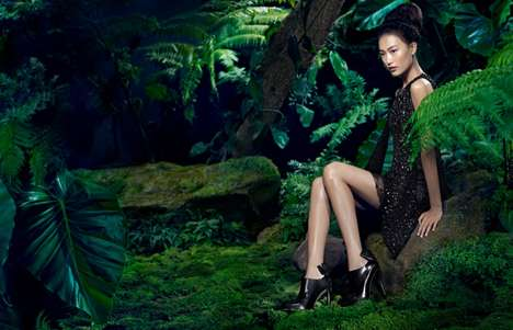 Enchanting Forest Fashion Ads
