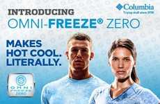 Body-Cooling Apparel - Columbia Omni-Freeze Zero Keeps Your Body Cool