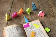 Prehistoric Sticky Notes - The Silly Notes Page Markers are Adorable and Useful