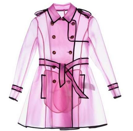 Transparent Trench Coats