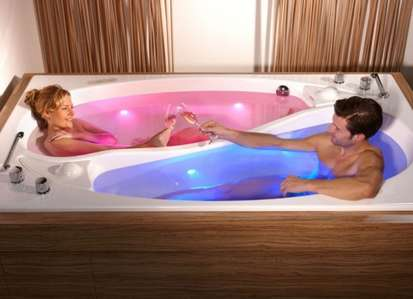 Dual-Bather Bathtubs