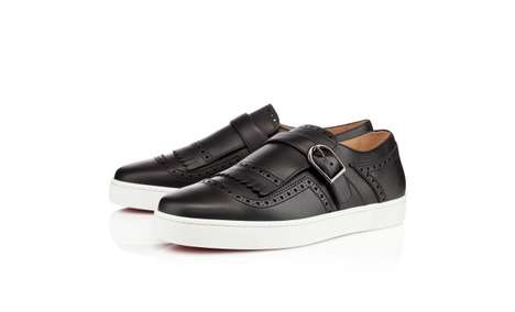 Casual Hybrid Brogues - The Christian Louboutin Club Flat Mixes Business and Pleasure