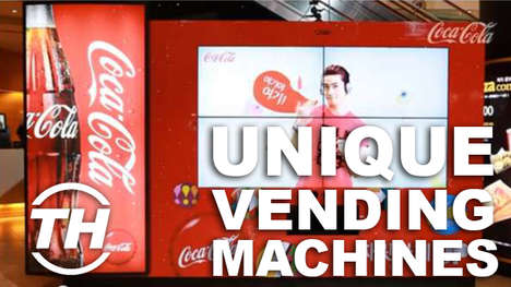 Unique Vending Machines - These Futuristic Vending Machines Might Revolutionize the Service Industry