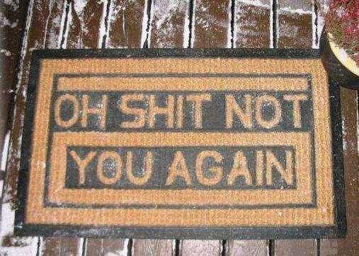 13 Unwelcoming Doormats