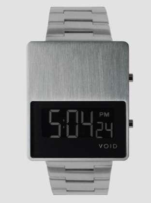 Futuristic Blocked Timepieces