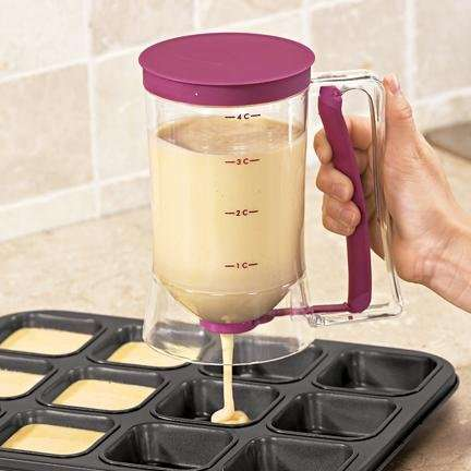 Multifunctional Baking Dispensers - This Batter Dispenser Increases Efficiency When Baking