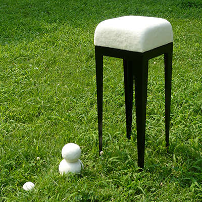 Unmelting Snow Objects