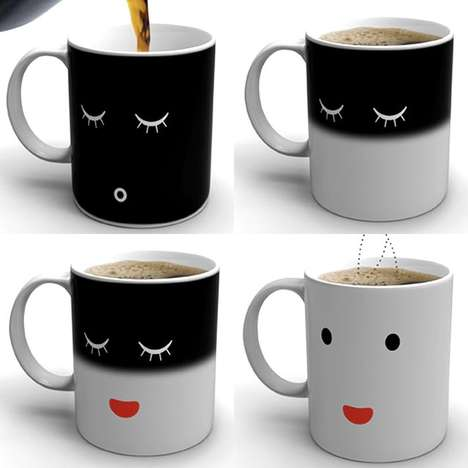 Heat-Activated Mugs