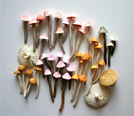 Mushroom-Shaped Sweets