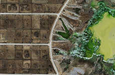 Frightening Feedlot Photography - Aerial Shots by Mishka Henner Expose Ruined American Agriculture