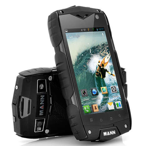 Men-Targeted Smartphones - The Mann A18 is Designed with the Macho Outdoorsman in Mind