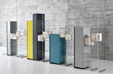 Towering Skyline Shelving - City Wall Cabinets by Antonio Lupi Create a Scenic Environment