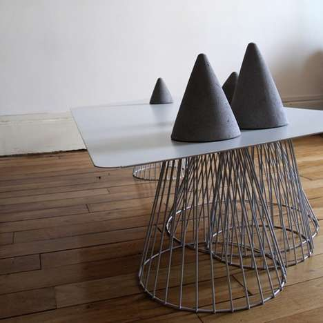 Cone-Legged Furniture
