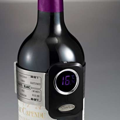 Booze-Testing Thermometers - This Digital Wine Thermometer Ensures Your Wine is Perfect Every Time