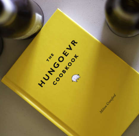 Comedic Hangover-Inspired Cookbooks - The Hungover Cookbook by Milton Crawford is a Funny Read