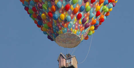Character-Filled Balloon Festivals - The Bristol Balloon Fiesta Saw 150 Hot Air Balloons Hit the Sky