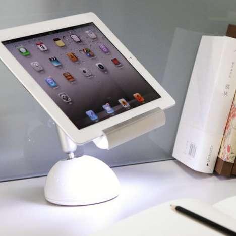 Illuminating Tablet Stands