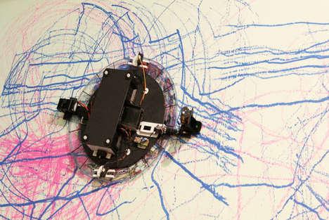 Robotic Painter Installations