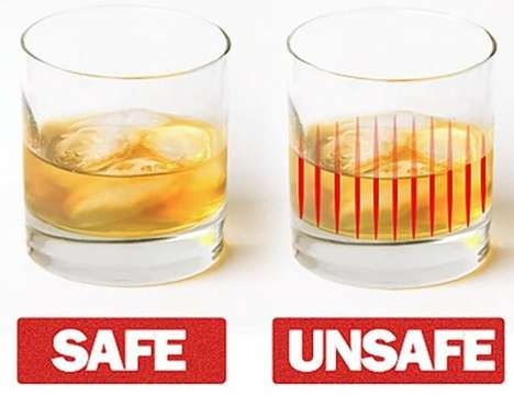 Roofie-Detecting Glassware (UPDATE) - The DrinkSavvy Collection Could Help Prevent Date Rape