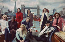 Celeb-Ridden Fashion Ads - The Marks & Spencer Fall Campaign Stars Britain's Leading Ladies
