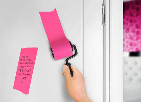 Paint Roller Note Pads