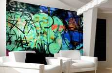 Artful Graffiti Wallpaper