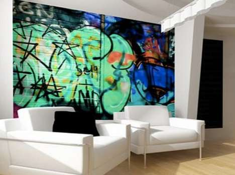 Artful Graffiti Wallpaper