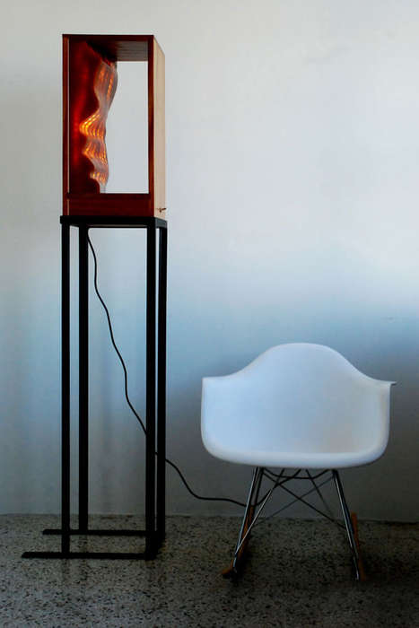 Luminously Sculptural Furniture