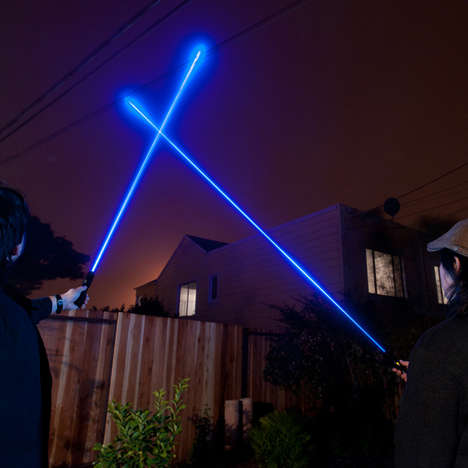 Sci-Fi Sword Lasers - This Powerful Handheld Laser Resembles a Lightsaber