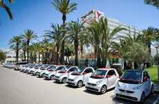 Exclusive Hotel-Edition Vehicles - Smart Car and Mercedes-Benz Made a Car Just for the Ushuaïa