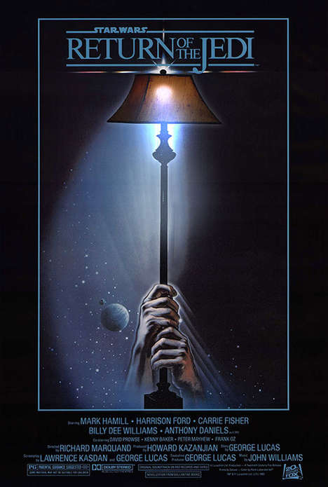 Lamp-Replaced Movie Posters