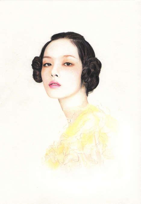 Photorealistic Fashion Illustrations