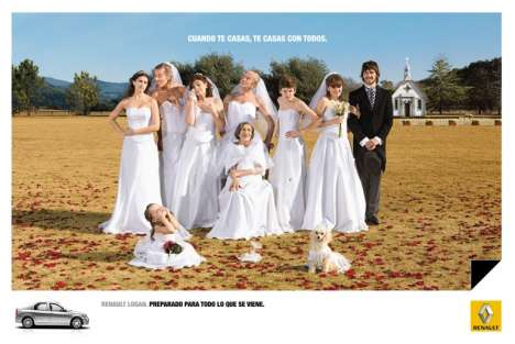 All Your In-laws in Wedding Dresses
