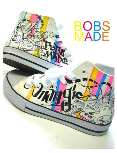 DIY Shoe Design Tutorials - Bobsmade Colors Your World