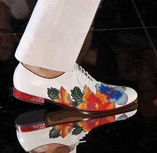 Floral Men's Shoes