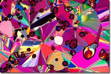 Microscopic Alcohol Art