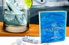 Sinking Titanic Ice Cubes - Gin and Titonic
