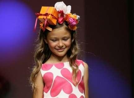 Recycled Kiddie Hairbands- Agatha Ruiz de la Prada's Spring Kidswear