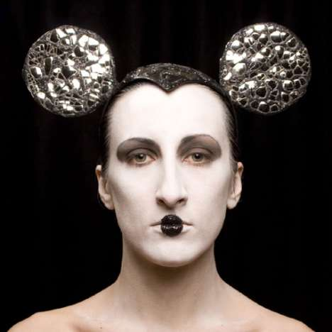 Geisha Mice - Mickey Mouse Headdresses by Piers Atkinson