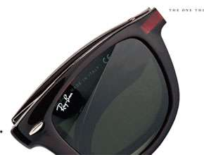 Foldable Shades - Space-Saving Ray-Ban Wayfarer Sunglasses