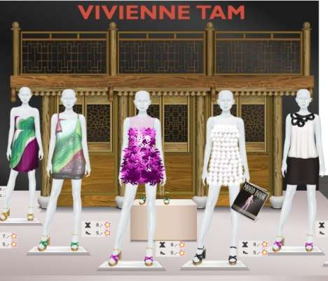 Real Designers in Virtual Worlds - Vivienne Tam for Stardoll